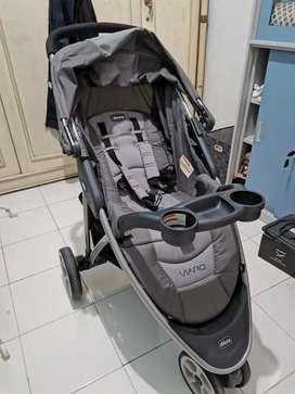 Preloved Stroller bayi chicco viaro like new