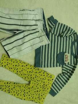 Baju Anak ukuran 12-18 bulan preloved