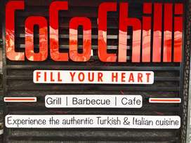 Hiring  delivery boy for COCOCHILLI  RESTAURANT