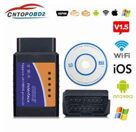 Latest ELM327 V1.5 WIFI Connection OBD2 Auto Code Reader Connection