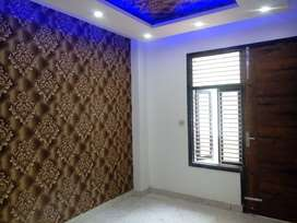 1+1 flat spacious with beautiful work near by metro gated locality