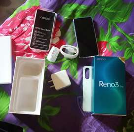 Full new condition oppo Reno 3 Pro 3 month open this phone