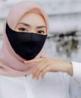 Masker Scuba Hijab Polos (diikat)