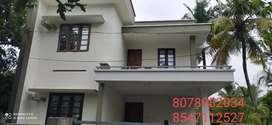 4Cent Plot With 1650Sq. Ft 3 BHK House In Puliyathumukku