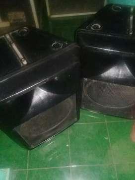 Jual 2 box speker 15 pasip plastik isi