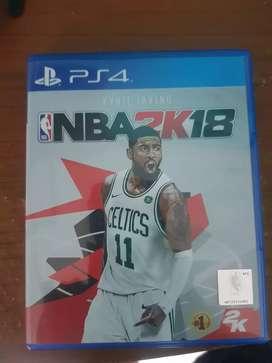 Bd ps4 NBA 2K18