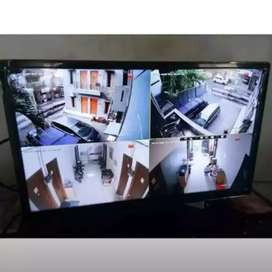 {Murah/Paket kamera cctv full hd 2mp/4ch kamera kumplit harga promo