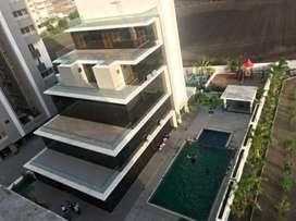Beautiful 3 bhk semi furnished highrise flat in SOPAN HEIGHTS