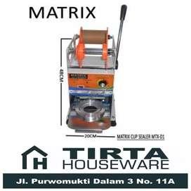 Mesin Cup Sealer Pres Gelas Plastik 22 Oz Matrix MTX D1