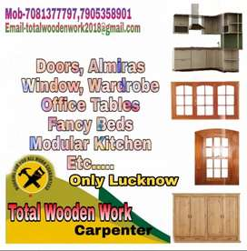 Carpenter Total Wooden Work For Lucknow