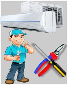 AC unistall + install 1200
