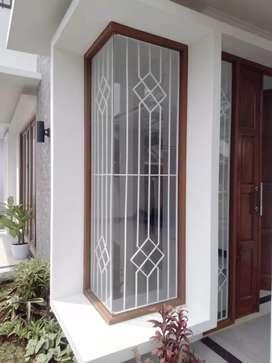 tralis jendela modern minimalis