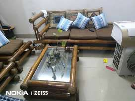 5 seater sofa set used 2 year