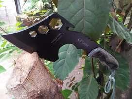 Golok pisau kampak axe outdoor kapak parang sangkur hutan kayu kebun