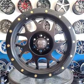VELG MOBIL 4WD R20x9.0 PCD6x139.7 Et15 PAJERO FORTUNER STRADA HILUX LC