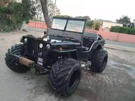 Full modified Willy open Jeep ready your booking