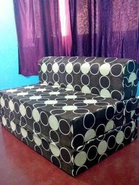 Sofa cum bed 6x3 for bedroom,livingroom as extra bedding