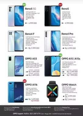 Oppo all type garansi resmi harga mulai dari satujutaan