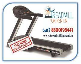 Treadmill spinbike cross traner fitness equipment on rent