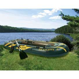 Intex Seahawk 4 Boat Set