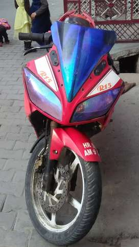 I will. Selling my r15 no.. Problem. Any type.. Good condition.. Bike