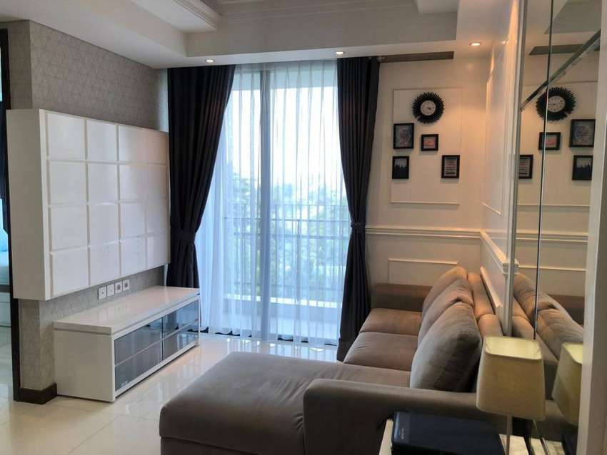 For Rent Apartment Casa Grande Residence 2+1 BR luas 88 Furnished 0