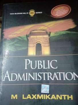 Public administration by Laxmikant
