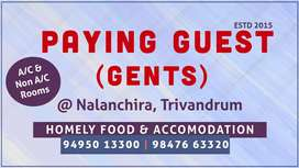 PAYING GUEST (Gents & Ladies)