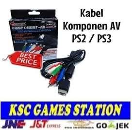 Kabel Komponen Untuk Ps1 / Ps2 / Ps3