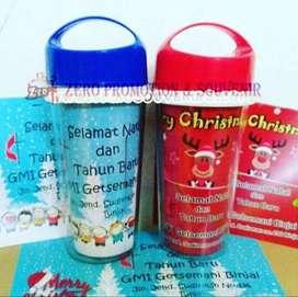souvenir natal botol minum tumbler GROSIR