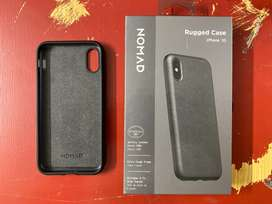 Iphone X Xs leather case Nomad