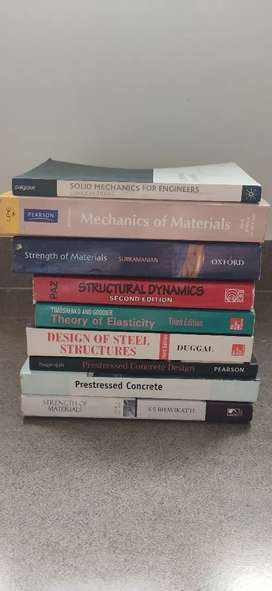 Btech civil structural books