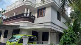 4.250 cent plot with home sale at thrissur corporation near chiyyaram