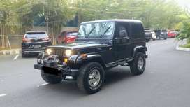 Jeep YJ 4.0L AT 4x4 1997 Black American Style