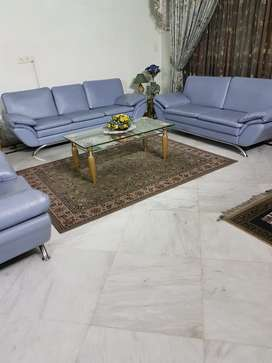 Sofa set with side tables and Center table