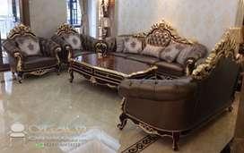 Jual Set Sofa Tamu Ukiran Mewah