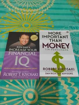Buku Robert T Kiyosaki seri Finasial Bisnis