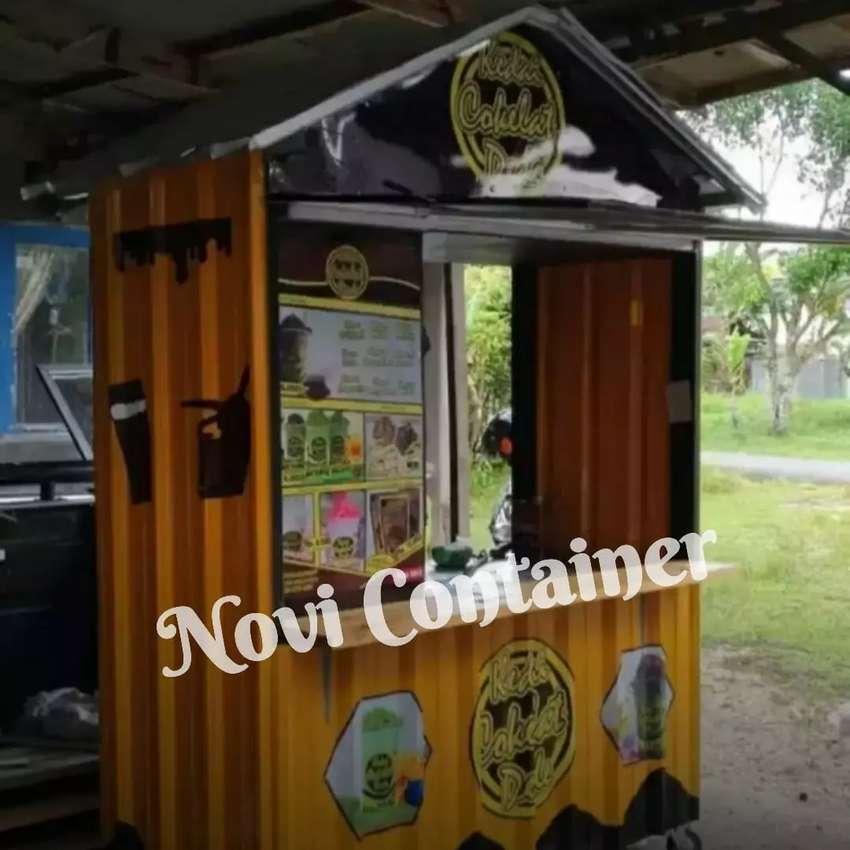 Container kedai kopi - container kedai thai tea - contaimer kedai 0