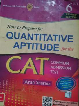 QUANTITATIVE APTITUDE CAT TMH BY ARUN SHARMA