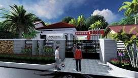 Rumah baru renovasi di daerah Pariwisata Belitung