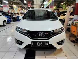 Honda jazz RS 2014 matic/metik/automatic/AT putih low km full orisinil