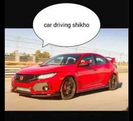Car driving shikhe.