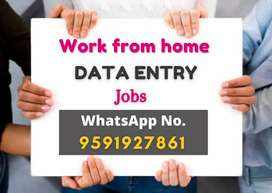 Hiring for part-time / full-time jobs. Work from home. Data entry jobs