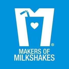 Wanted milkshake makers