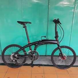Sepeda lipat pacific noris 1.0 full upgrade