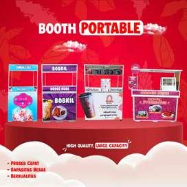 Booth Rombong/Lipat/Portable Bahan Alumunium Ringan TERLARIS