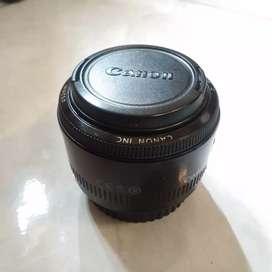 Lensa Canon EF 50mm f/1.8