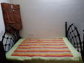 Wrought Iron strong queen sized  Bed