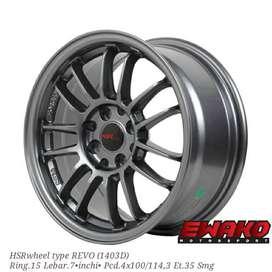 Revo Smg H8 - Velg Mobil Racing Hsr Wheel Import (free ongkir)