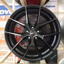 velg ring 18 forged 305 stok ready bisa untuk mobil innova Camry civic